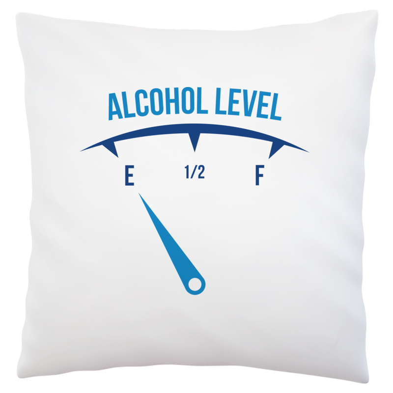 Poduszka Alcohol Level