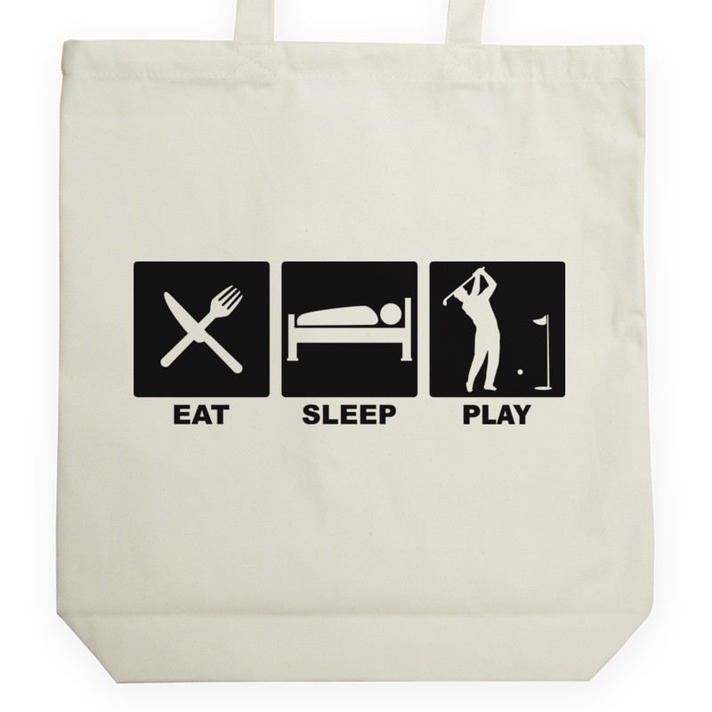 Torba_Na_Zakupy Eat Sleep Play Golf