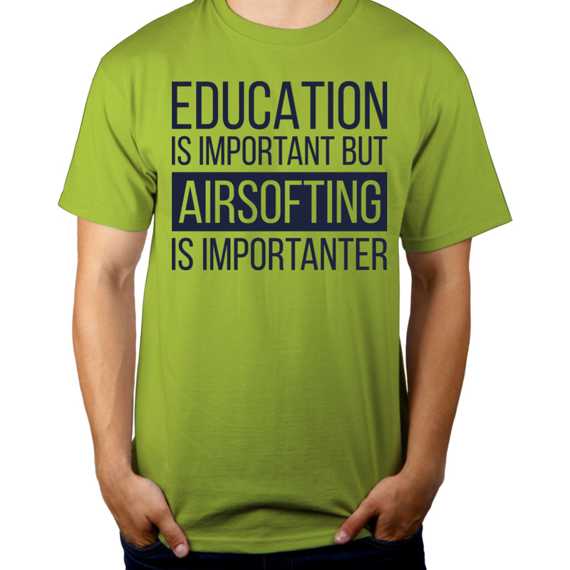 Koszulka Education and Airsofting