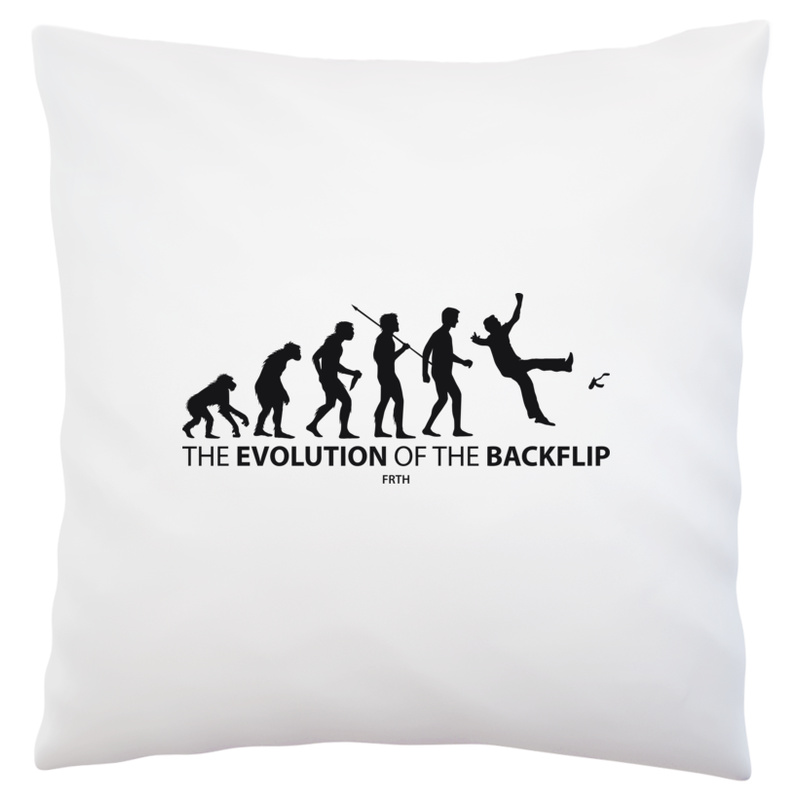 Poduszka Evolution Of The Backflip