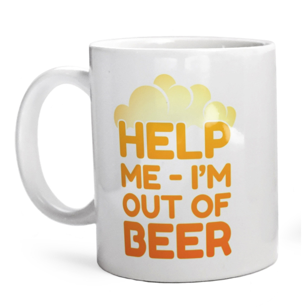 Kubek Help me - I'm out of beer