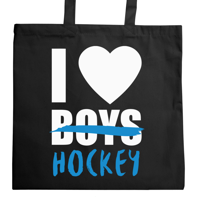 Torba_Na_Zakupy I Love Hockey