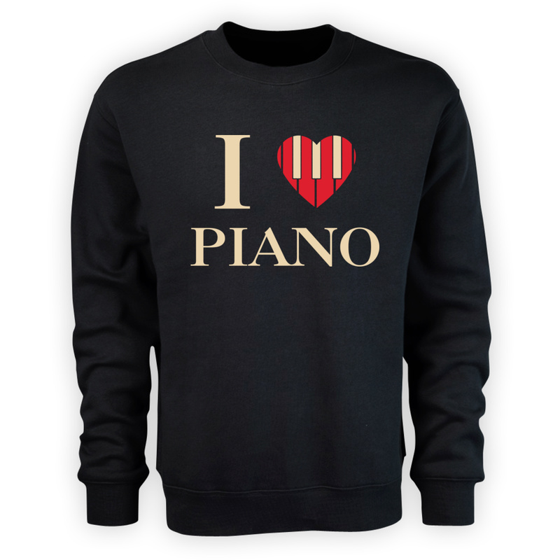 Bluza I Love Piano