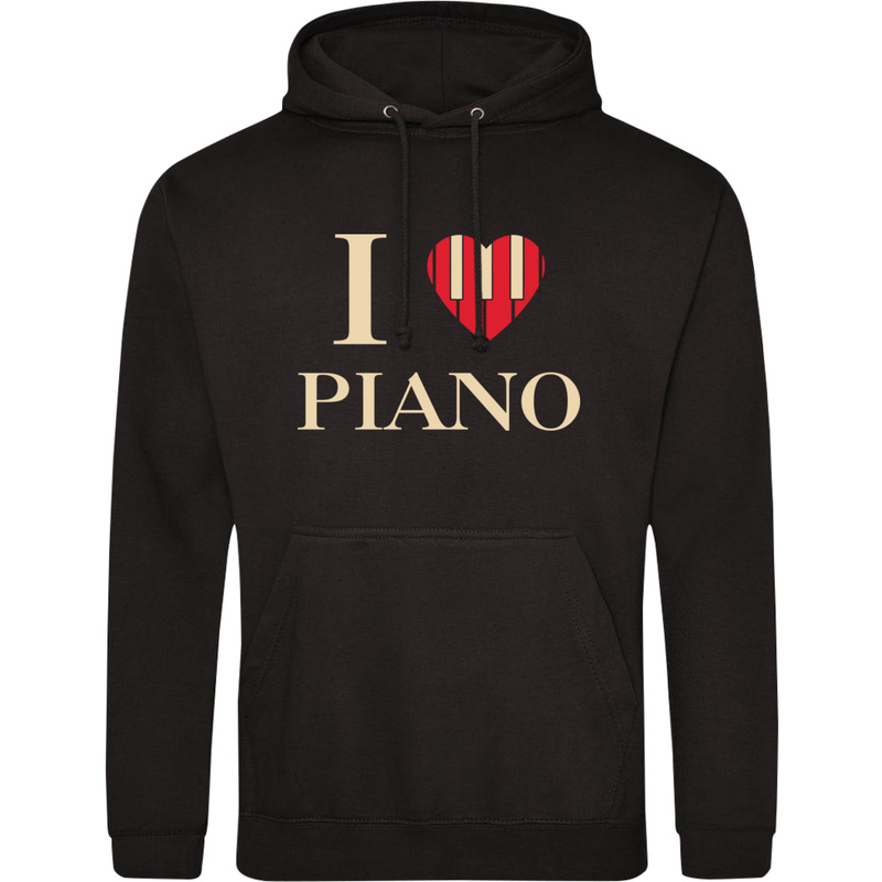 Bluza_z_kapturem I Love Piano