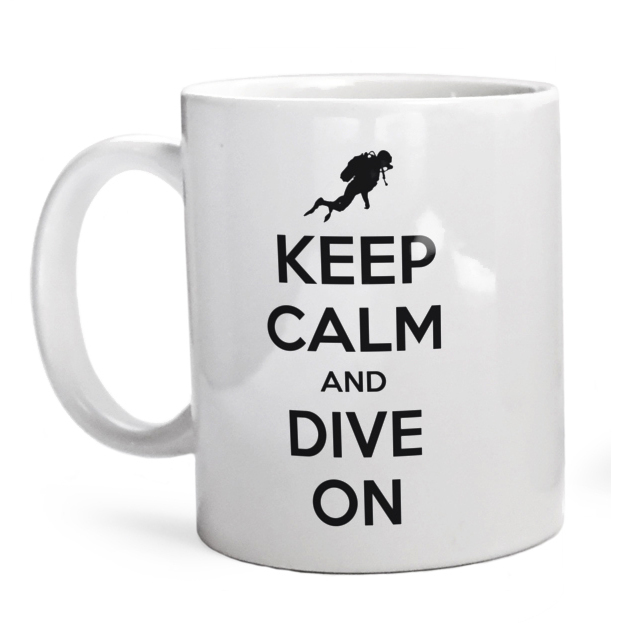 Kubek Keep Calm And Dive On