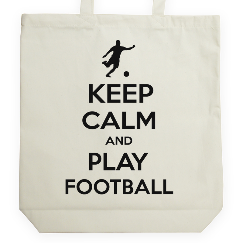 Torba_Na_Zakupy Keep Calm And Play Football
