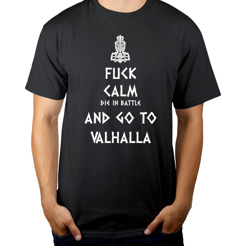 Koszulka Keep Calm Viking Valhalla