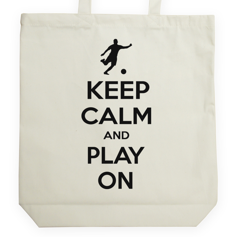 Torba_Na_Zakupy Keep Calm and Play On - Football