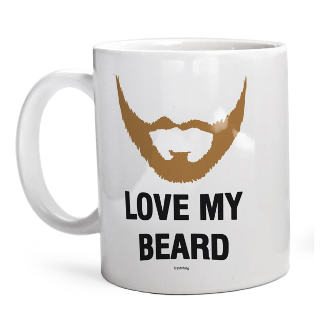 Kubek Love My Beard