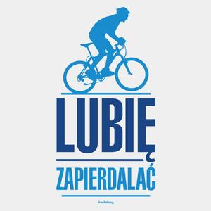 8216e0e72399d2 Lubię Zapierdalać Rower MTB - Męska Koszulka Biała - Freshthing.pl