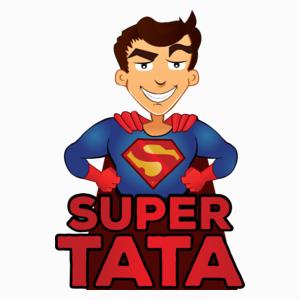 Super Tata - Uniwersalna Poduszka Biała